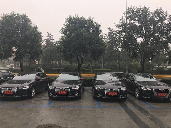 商洛市丹凤县婚车