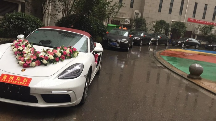 商洛市镇安县婚车租赁