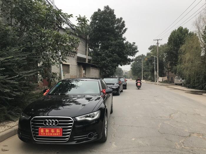 商洛市柞水县开头婚车