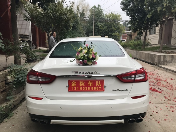 渭南市白水县婚庆头车出租