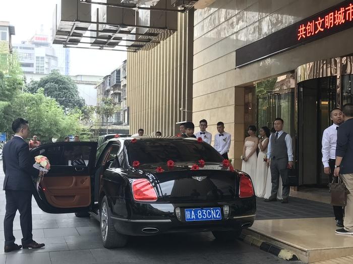 延安市黄龙县婚庆头车出租