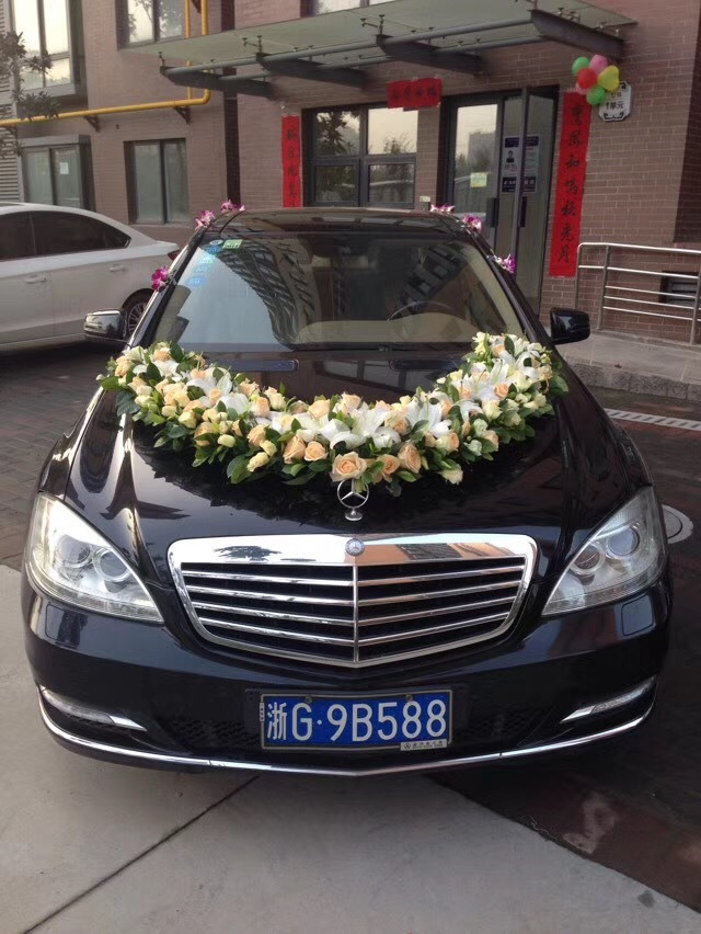 延安市黄陵县婚车