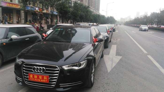 渭滨区婚车出租