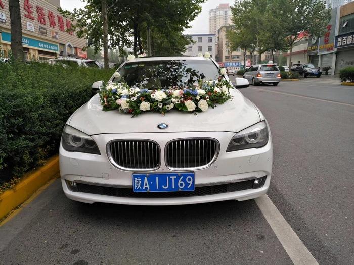 渭滨区宝马5系婚礼车队