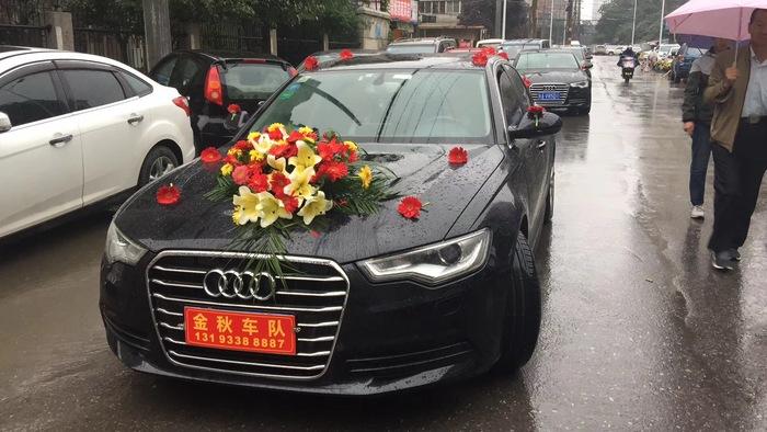 乾县婚礼车队