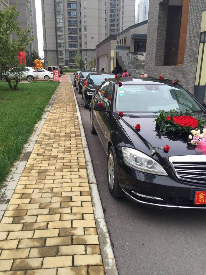 汉中婚礼车队