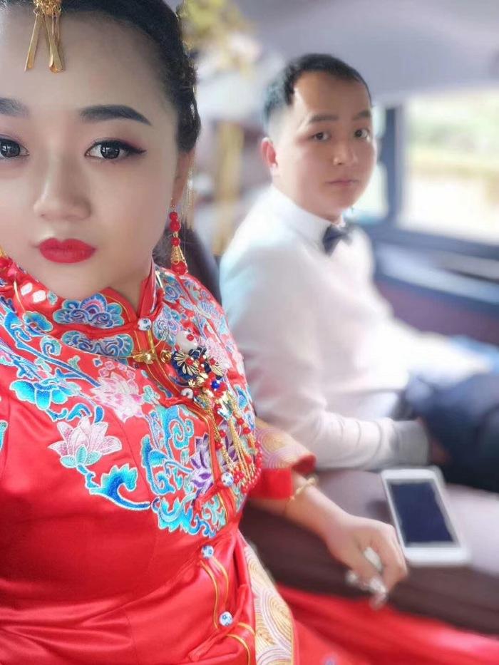 略阳婚礼车队