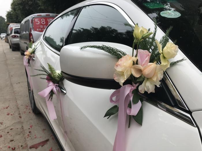 汉滨婚礼车队