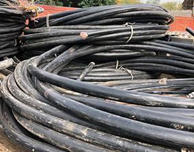 西安电缆回收公司高价回收废旧电缆