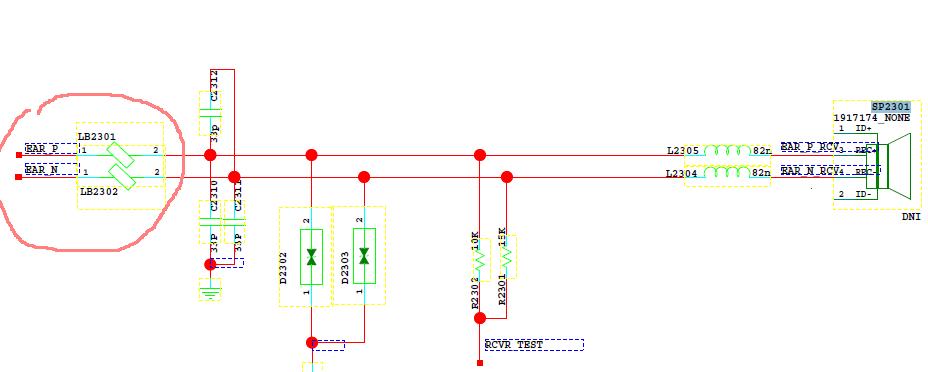 华为b310a电路图