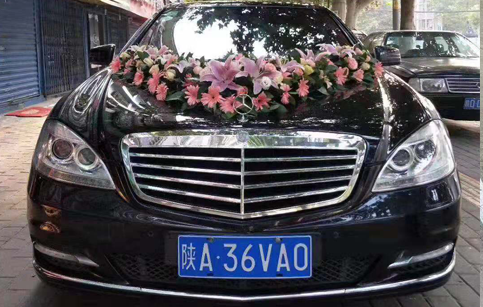 西安雁塔区奔驰婚车租赁