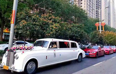 西安灞桥区婚车租赁