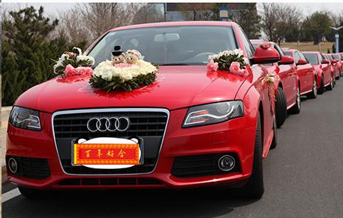 奥迪A4婚车租赁