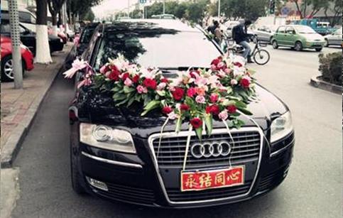 西安灞桥区奥迪婚车租赁