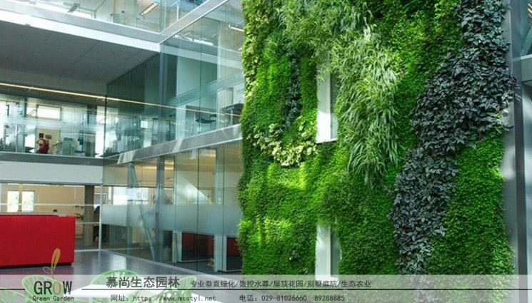 立体绿化施工