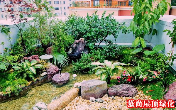 西安屋顶花园设计与施工