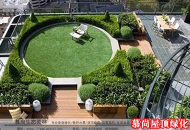 屋顶绿化草坪