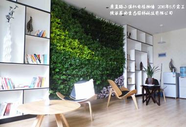 康复路小溪机电室内植物墙
