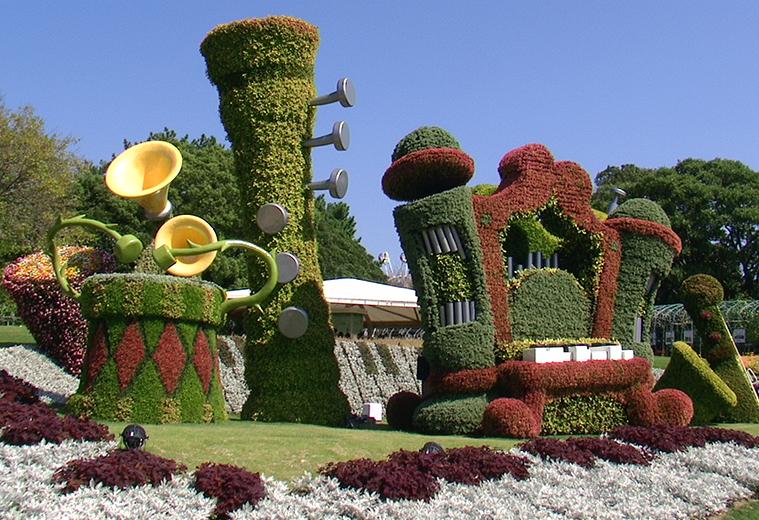 西安绿雕景观