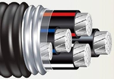 铝合金带联锁铠装电力电缆