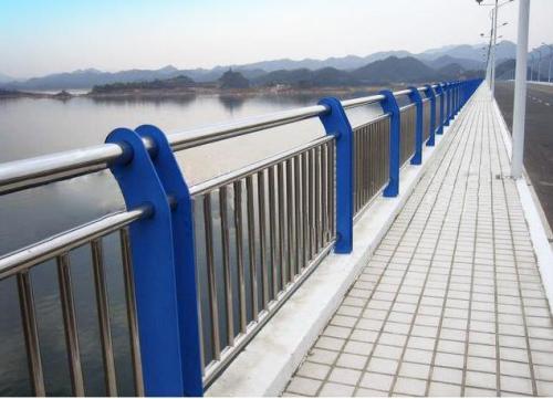 桥梁护栏支架