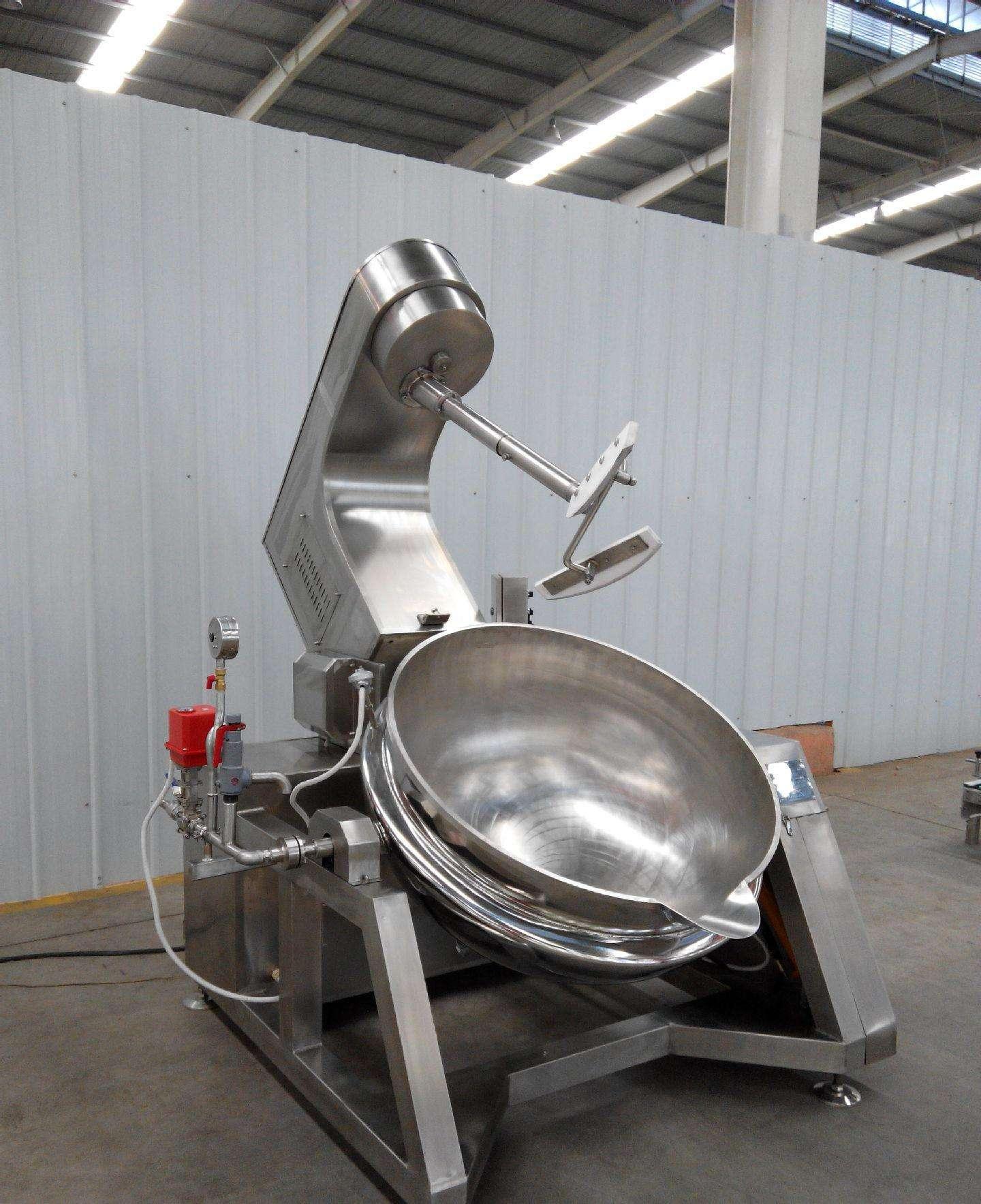 枣庄/东营行星搅拌炒锅搅拌器转速变频调节