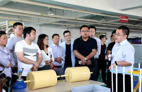 工业和信息化部工业文化发展中心培训班学员来西电百家乐官网考察参观