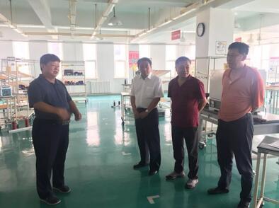 东北工业集团有限公司领导到西电百家乐官网参观考察