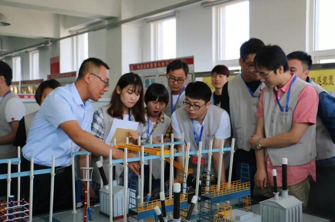 陕西长岭电子科技有限责任公司青工精益安全培训在西电百家乐官网举行!