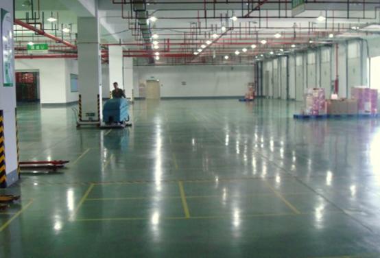 染色固化地坪