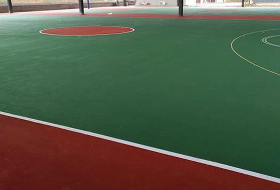 长沙南郊公园运动场地坪施工