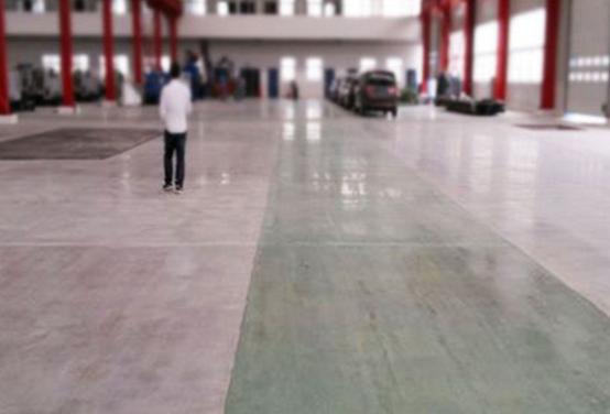 五菱汽车厂房环氧地坪施工