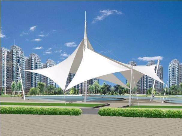 公园膜结构景观