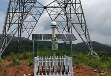 北斗高精度位移监测系统在西南某电力塔监测中的应用