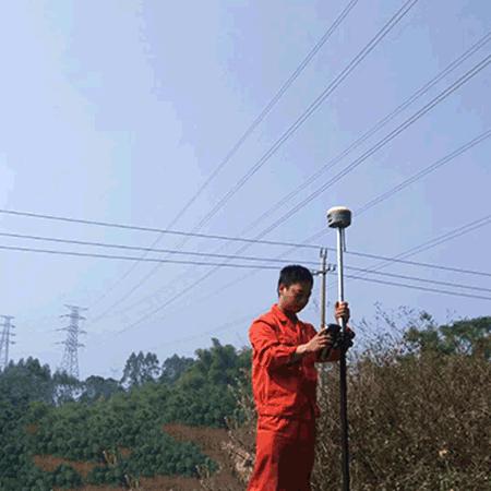 RTK在电力勘测及塔基断面中的应用