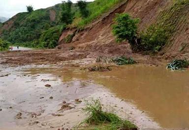云南红河州、德宏州泥石流自动化监测预警