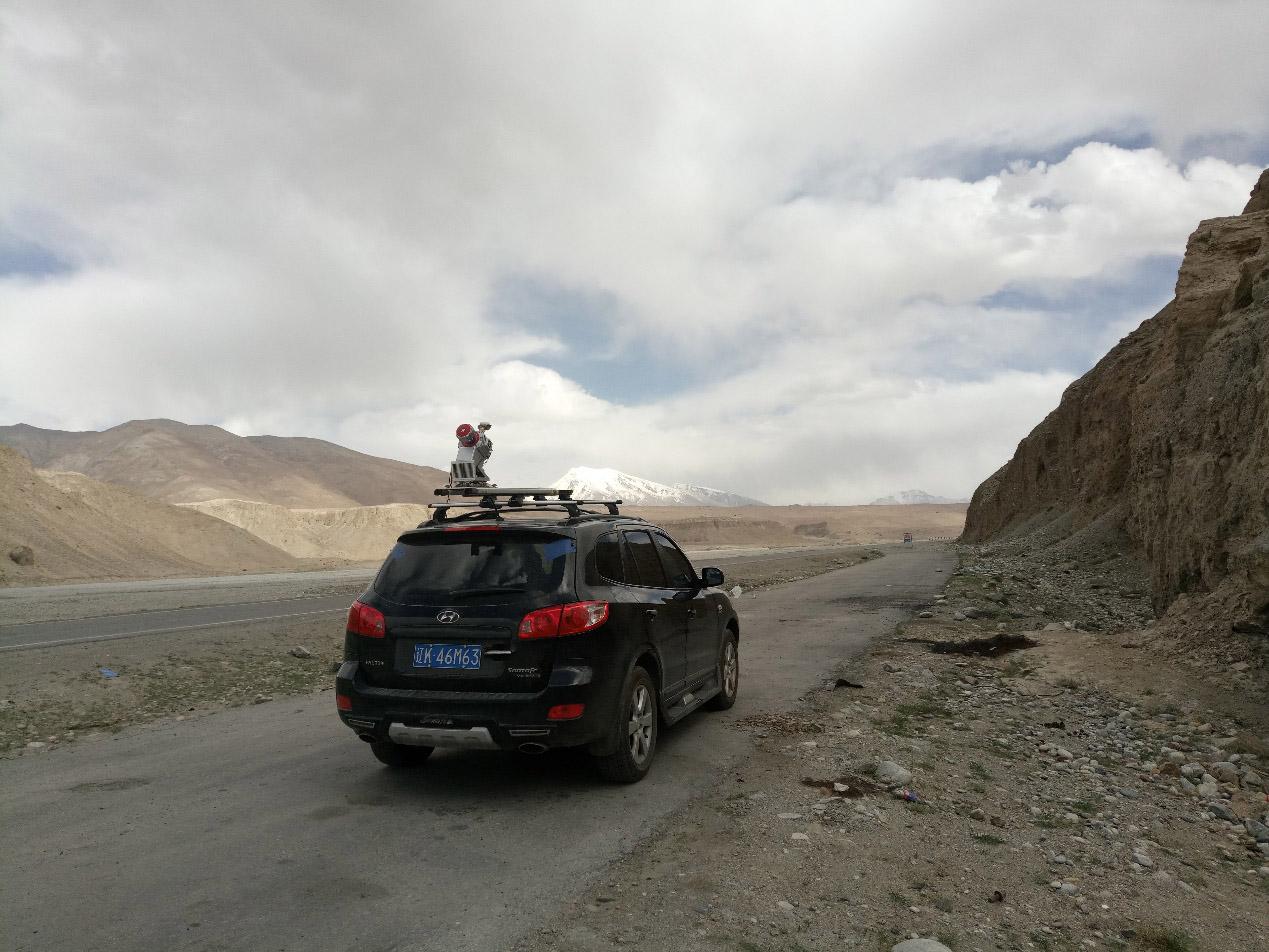 车载激光雷达系统,公路勘测车载激光雷达应用案例分享
