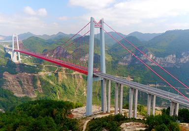 北斗自动化桥梁位移监测系统在贵州清水河大桥健康监测中的应用