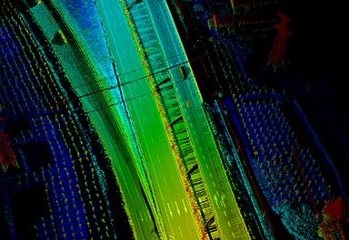 车载激光扫描测量系统在京沪高速改扩建中的应用