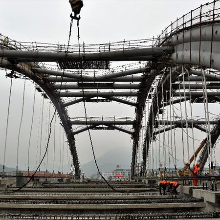 三维激光扫描仪在温州龙港大桥钢结构检测中的应用