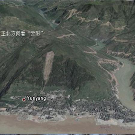 华测监测系统在三峡云阳段滑坡中的应用
