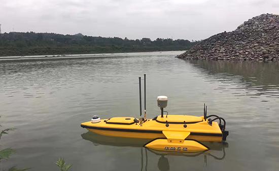 RTK,水利建设测量,测深仪,RTK测量,RTK与无人船,无人船,无人测量船