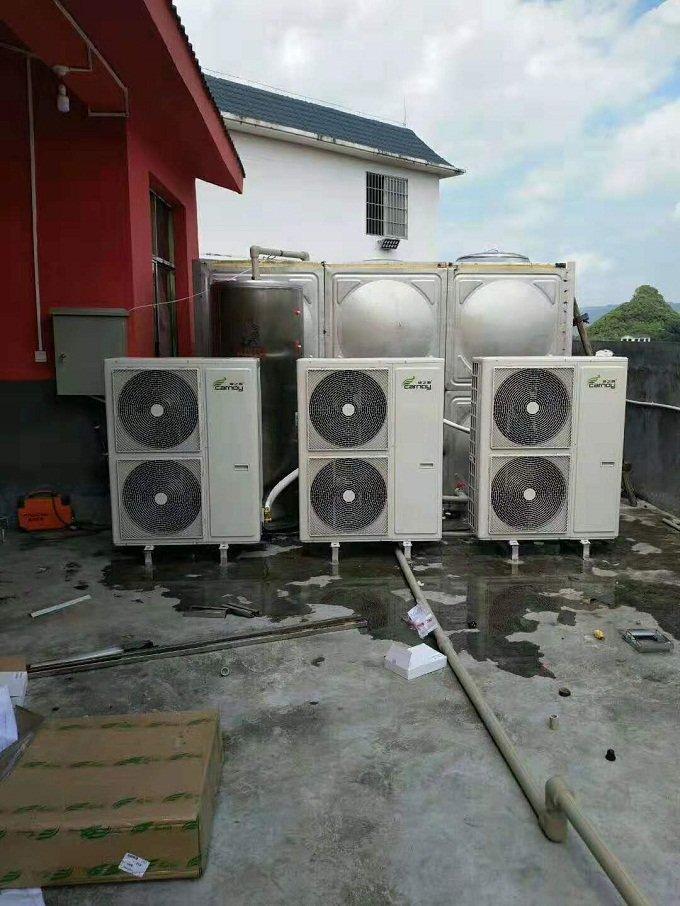 贵阳梦想城家用气能热水器安装案例
