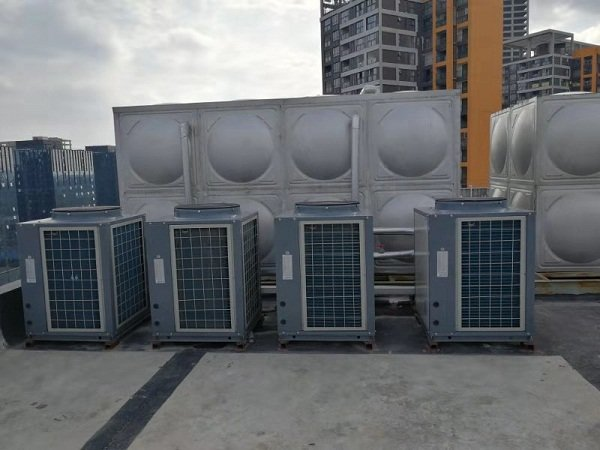 格林酒店气能热水器安装案例