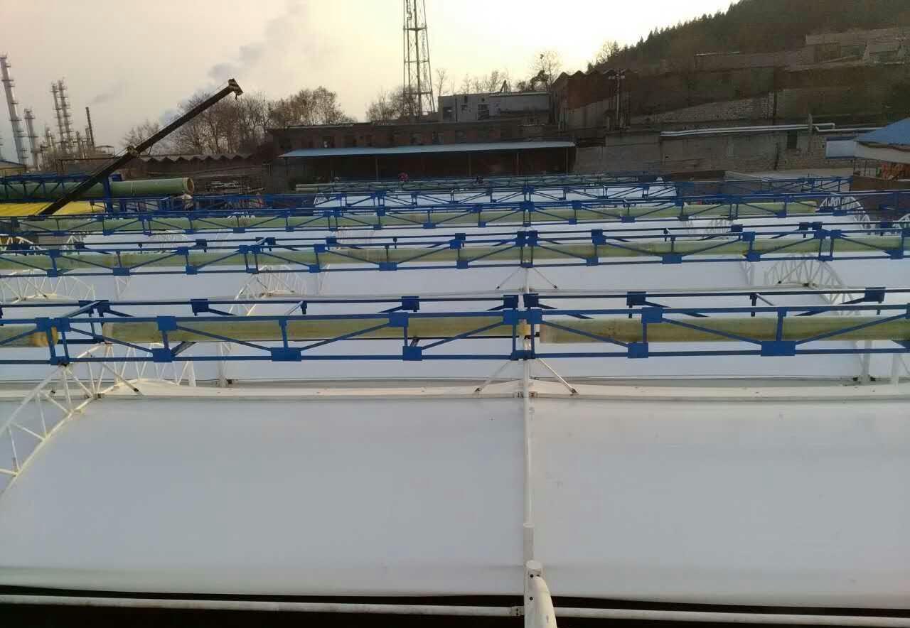 膜結構污水池加蓋