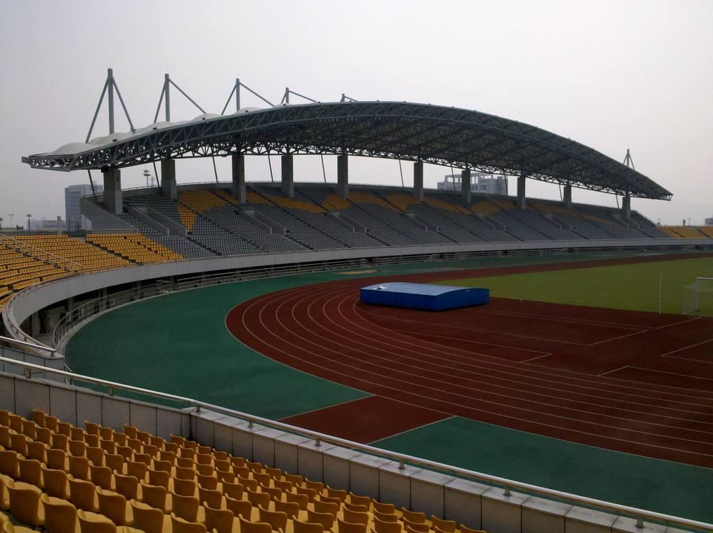 出口体育场看台膜结构