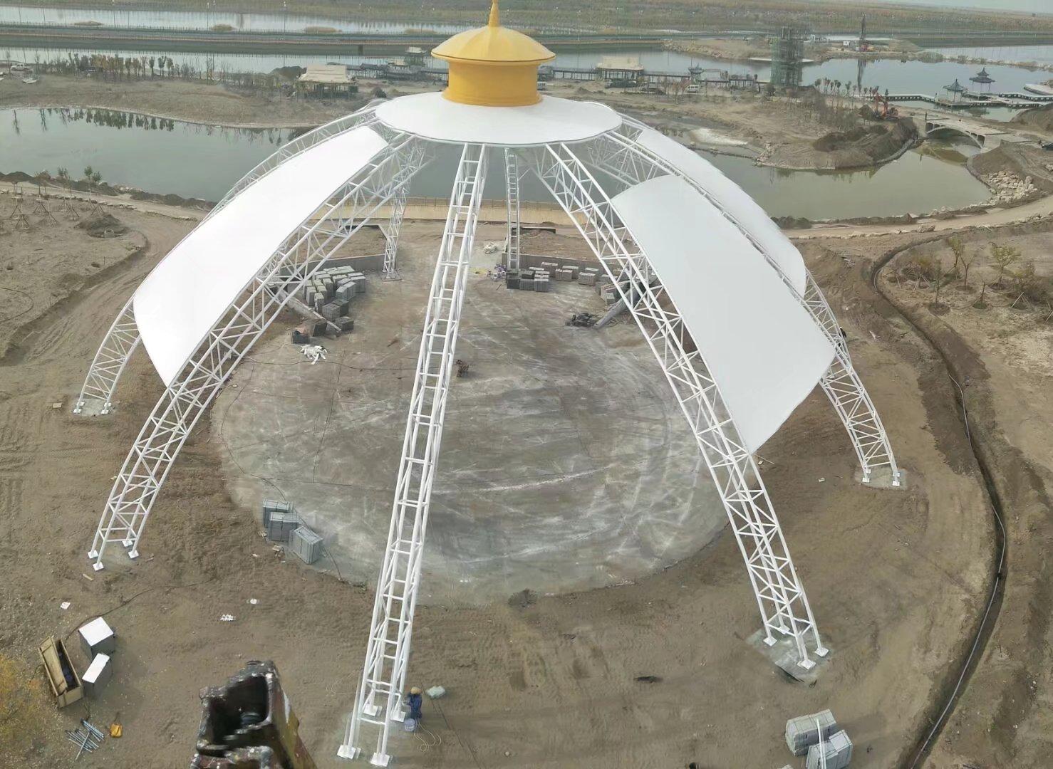 阿拉善盟額濟納旗蒙古包建設