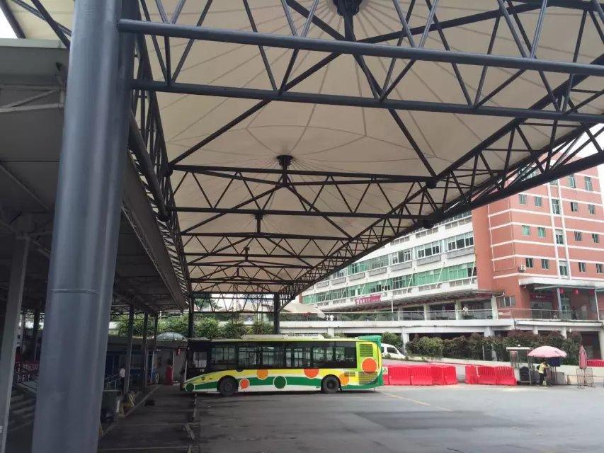 東立汽車客運站膜結構案例