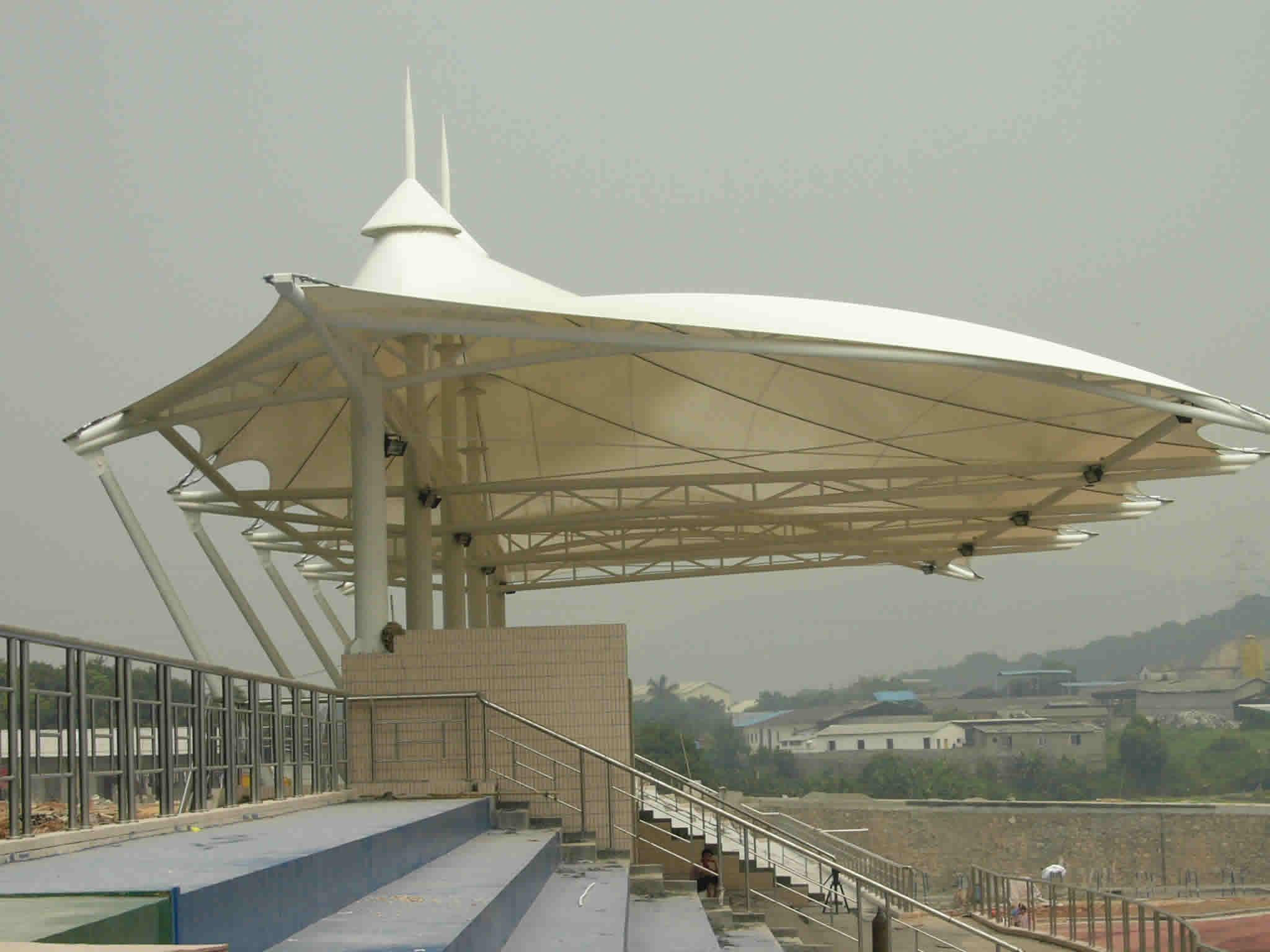 南京膜結構體育看臺