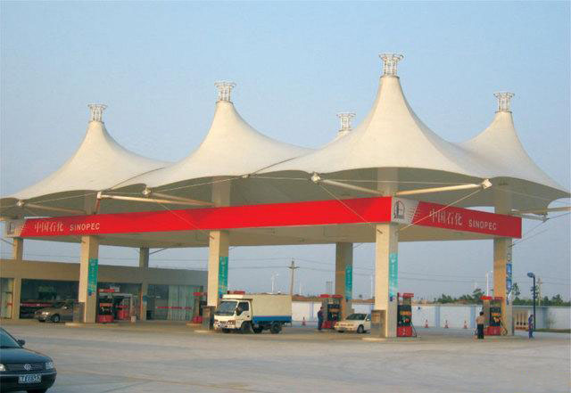 泰州膜結構加油站